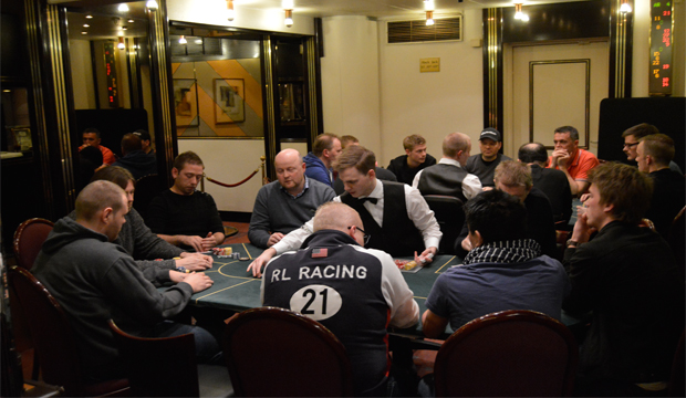 Artikel foto: Fra en tidligere pokerturnering