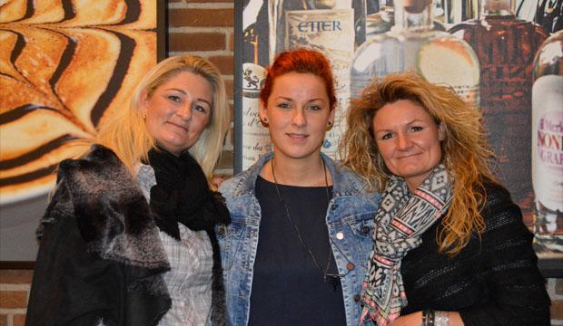 Stine Beyer Andersen, Tina Beyer Christensen og Mette Louise Christiansen
