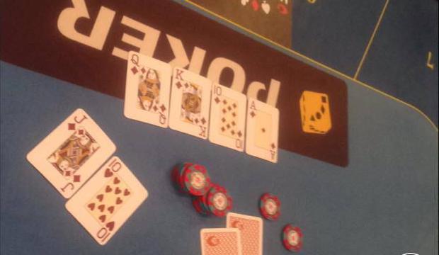 Royal Flush på 5/10 bordene - Udløser en 20.000kr Las Vegas Rejse