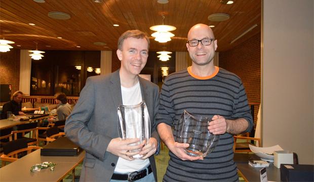 Erik Sørensen og Lars Trabolt