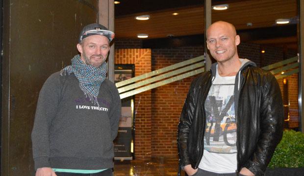 Dennis Siim og Ruben Juncher Rasmussen