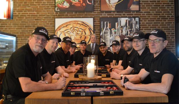 Artikel billede: Team Casino Munkebjerg holdet samlet på hotellet