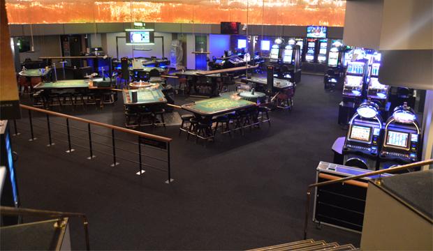 Casino kig fra reception