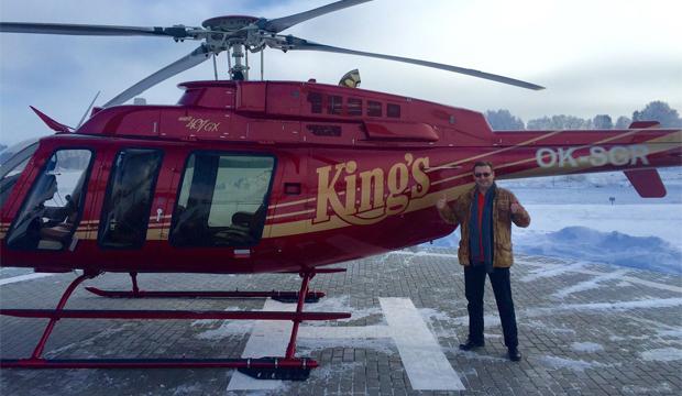 Artikel billede: En tidligere vinder på Kings blev fløjet hjem