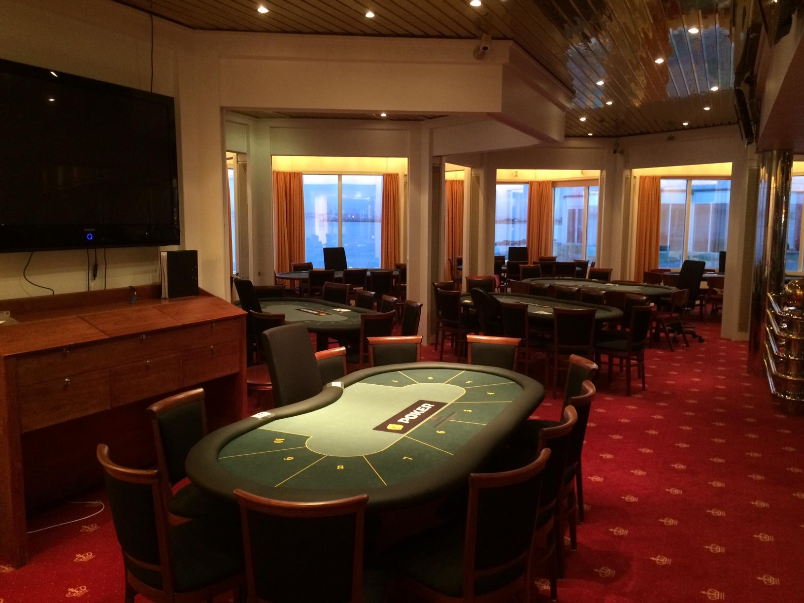 Artikel billede: Fra spille området på Casino Marienlyst