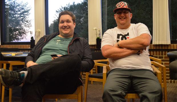 """Artikel foto: Mick Heder og Anders """"Speedy"""" Andersen"""