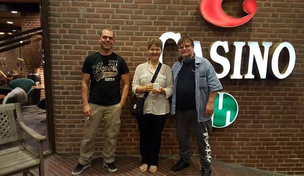 Artikel foto: Mike, Dorthe og Peter