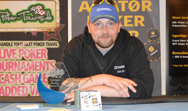 Jacob Odland, DAPT, Live Poker, Pokernyheder, Online Poker, Live Stream