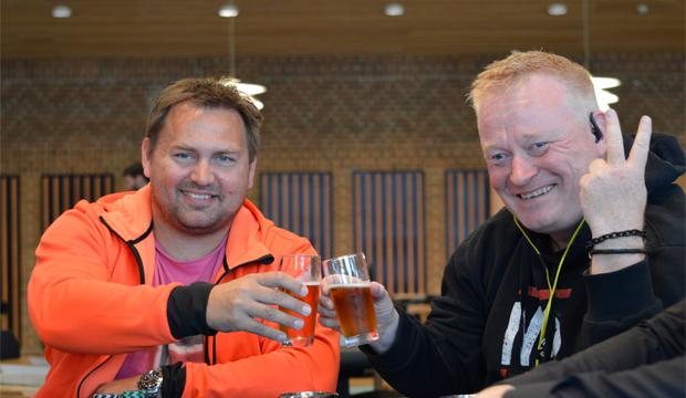 Johnny Østbjerg og Per Mølgaard