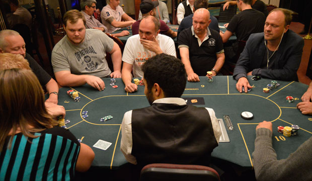 Artikel billede: Fra turnerings rummet på Casino Aalborg