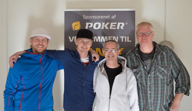 Artikel billede: Henrik, Lasse, Leif og Jensen Christian