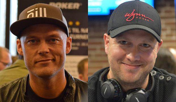 Ruben Juncher Rasmussen og Søren Dalgaard. Spiller 1B