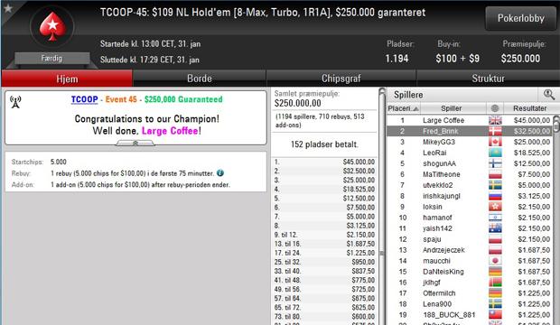 Pokernyheder, Pokerstars, Online Poker, resultater