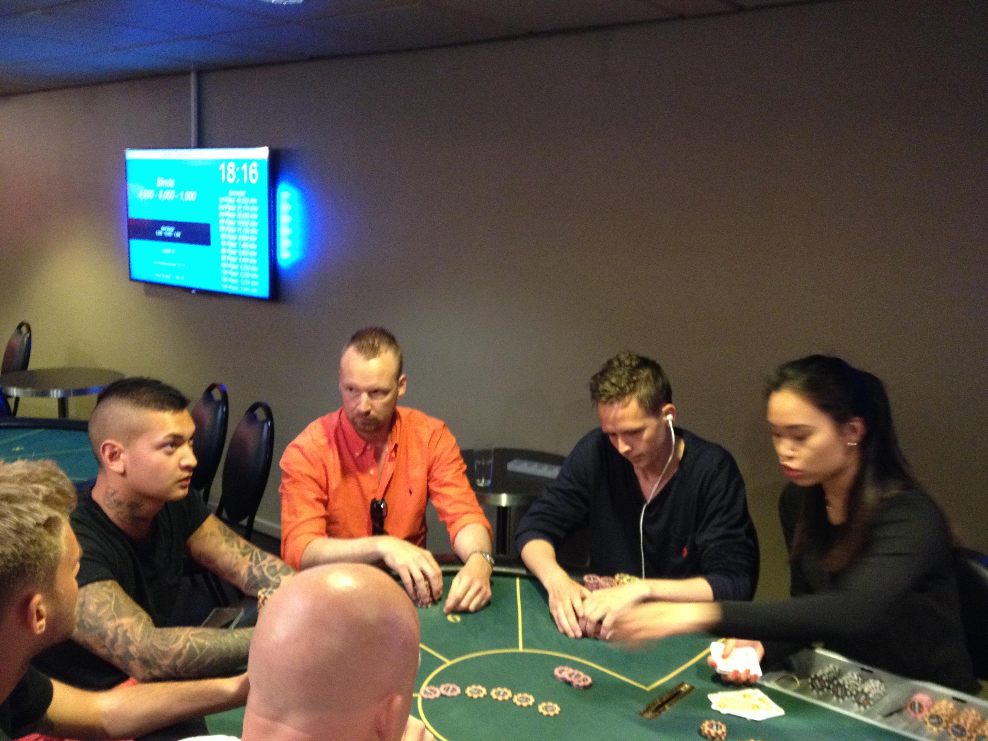 Artikel billede: Nogle af spillerne fra finalebordet