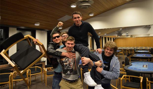 Artikel foto: Mest festlige rail ever på Casino Munkebjerg