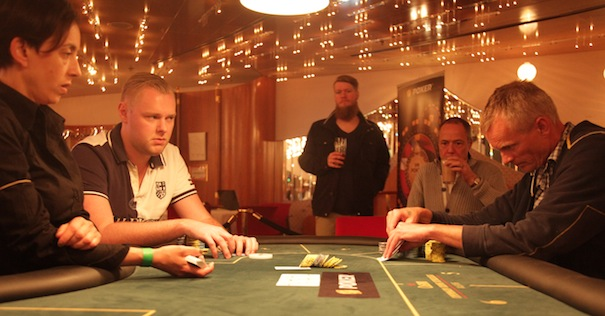 Artikel billede: Søren Kongsgaard og Dennis Kristensen heads up til DM i PLO, 2013