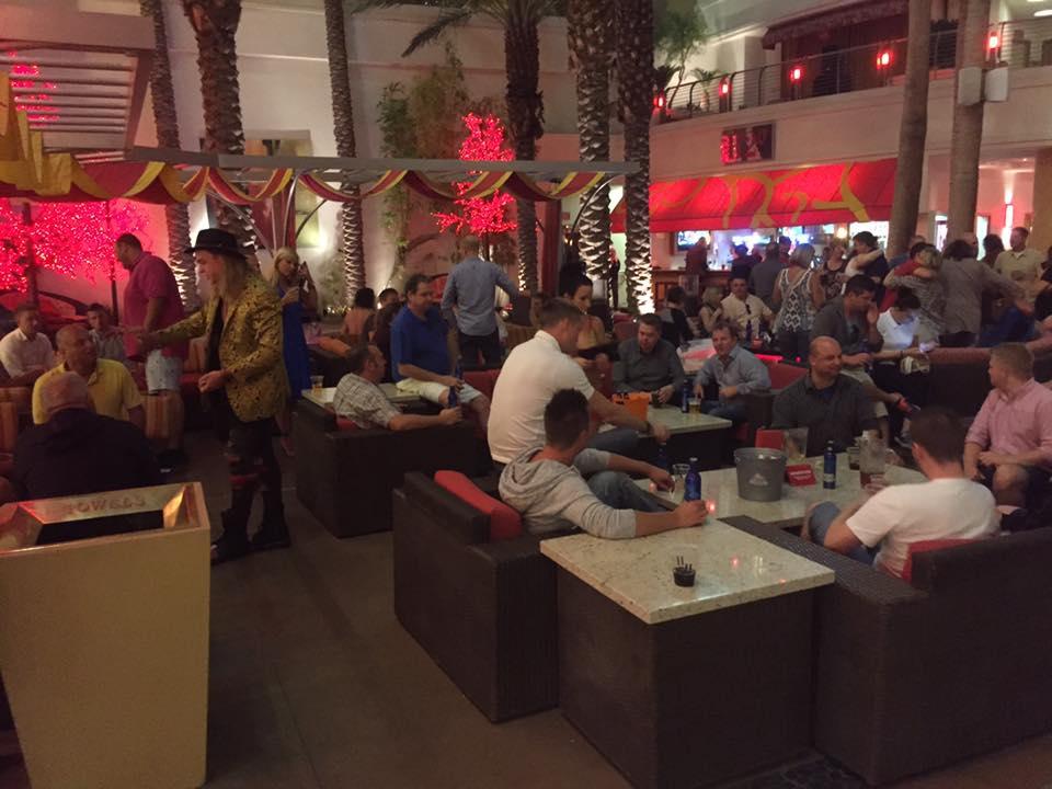 Artikel billede: Hygge i Las Vegas, med tryl og kolde pils