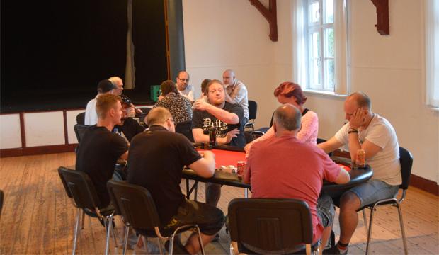 Artikel billede: Fra en hverdags turnering i Horsens Pokerklub