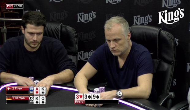 Theo Jørgensen, Elky, Kings Casino, Live Poker, Pokernyheder, Live Stream