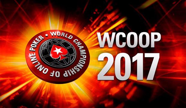 WCOOP 2017, Pokernyheder, Pokerstars, Online Poker, resultater