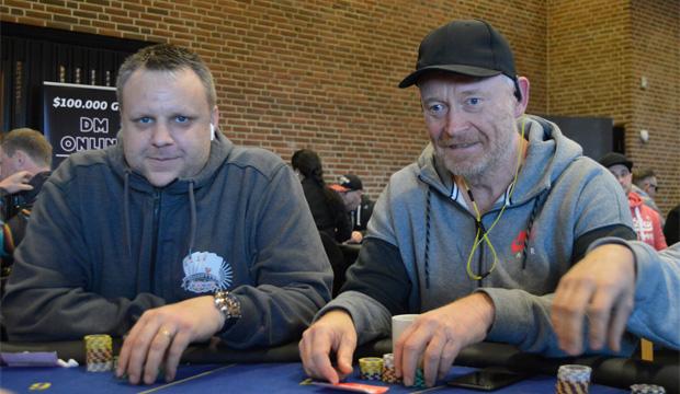 Rudi Aabo og Per Mølgaard, Live Stream, Danske Spil MPT, DSMPT, Casino Munkebjerg, Pokernyheder, Live Poker, 1stpoker
