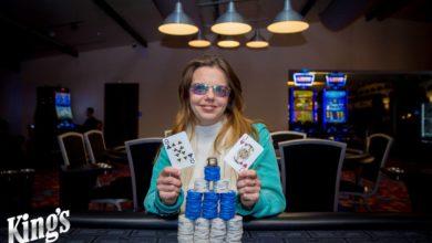 Irina Batorevich , WSOPC 2018, Kings Casino, Live Poker, Pokernyheder, 1stpoker, Live Stream