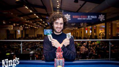 Eyal Bensimhon, WSOPC 2018, Kings Casino, Live Poker, Pokernyheder, 1stpoker, Live Stream