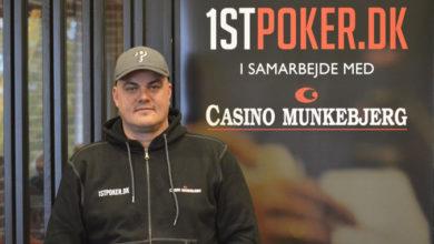 Billede af Torben Tvede Gøttler, Casino Munkebjerg i Vejle, Live Poker, Pokernyheder, 1stpoker