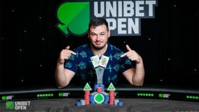 Anton Vinokurov, Unibet Open 2018, Bucharest, Live Poker, Pokernyheder, 1stpoker