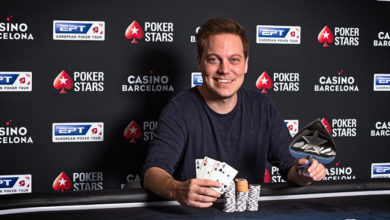 Photo of Alex KP vinder $5.200 Poker Masters Mini Main Event 2020