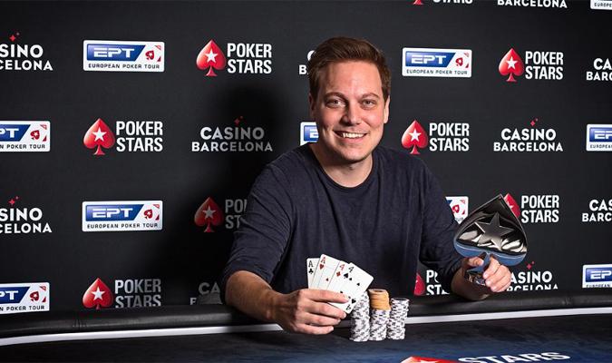 """Alexander """"AlexKP"""" Petersen, Pokerstars Live Poker, EPT Barcelona 2018, Live Poker, Poker News, 1stpoker"""