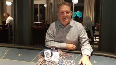 """Christian """"Frimærket"""" Grundtvig, Casino Marienlyst, Pokernyheder, Live Poker, 1stpoker"""