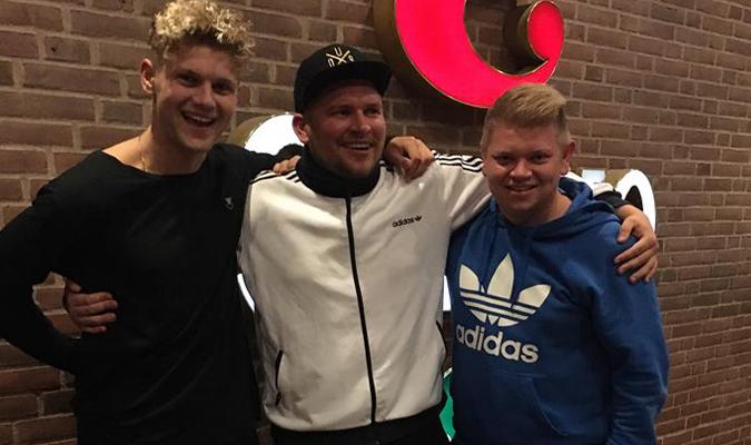 Berita Poker - Christian Frimodt, Torben Srensen dan Mark Frimodt, Casino Munkebjerg