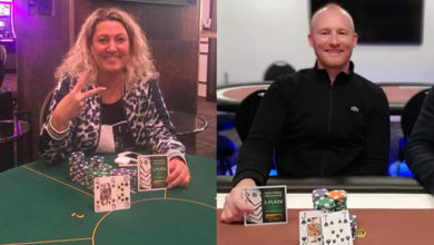 Karina Tvede Gøttler og Morten Panduro, Casino Aalborg, Live Poker, Pokernyheder, 1stpoker