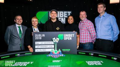 Paul Jux Holderness , Unibet Open Dublin 2018, Live Poker, Pokernyheder, 1stpoker
