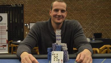Photo of Johnny Andreasen vinder på Casino Munkebjerg, 11-8-2020