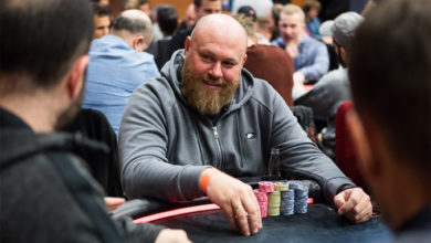 John Sarailis - EPT Main Event 2018, Prag , Live Poker, Pokernyheder, 1stpoker