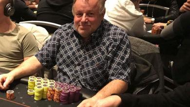 Photo of Jørgen Dyhrberg vinder på Casino Munkebjerg, 5-7-2020