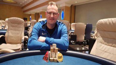 Photo of Martin F. Simonsen vinder Big Wednesday på Kings Casino