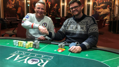 Photo of Christian og Lasse laver HU deal på Casino Aarhus, 5-2-2019