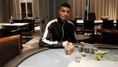 Photo of Ismael Ali vinder 100kr rebuy på Casino Marienlyst, 2-3-2019