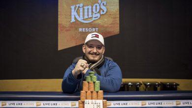 Photo of Pierre Christensen har lagt sig i spidsen af DM i Poker 2019