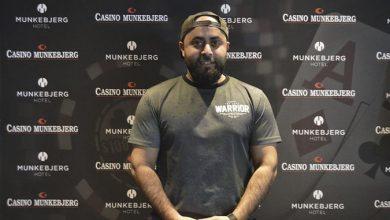 Photo of Ramy Zeraic vinder på Casino Munkebjerg, lørdag 1-2-2020