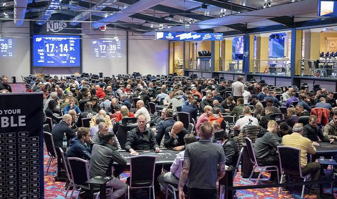 Kings Casino, Live Poker