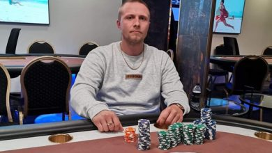 Photo of Mathias Andersen 2ér i $530 Bounty Builder $100.000GTD