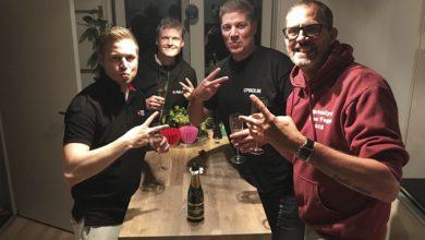 Pokernyheder - Billede af Hold DM 2019 Vinderne, Anders Kjellerup, Mark Tranto, Tommy Krag-Nielsen og Willi Thal-Drexel