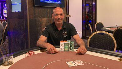 Photo of Eduardo Di Benedetto vinder på Casino Aalborg, 15-8-2019