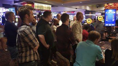Spændingen er høj ved roulette bordet, Las Vegas 2019