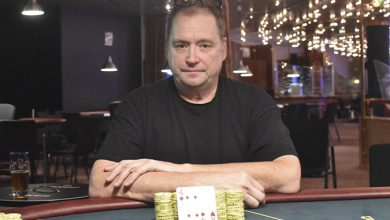 Photo of Jan Djerberg vinder på Casino Marienlyst, fredag 28-2-2020
