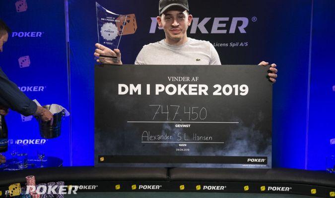 Alexander Hansen, DM i Poker 2019